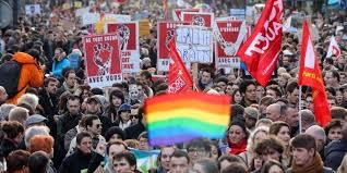 mariage pour tous des milliers de manifestants partisans du mariage pour tous