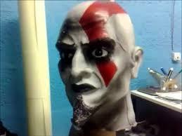 Kratos Halloween Costume Kratos Máscara Finalizada