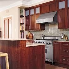 brown kitchen cabinets backsplash ideas stylish backsplash pairings better homes gardens