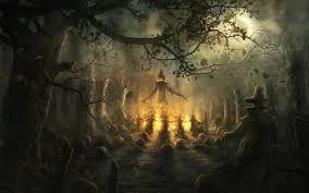 halloween scarecrow wallpaper halloween pinterest halloween