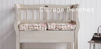 white storage bench range of storage benches the white