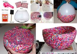 diy confetti bowl for you to try