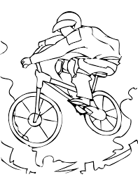 bmx bike coloring page letscoloringpages com nice pic 6 free