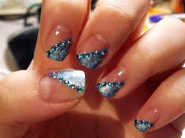 simple acrylic nails designs how you can do it at home pictures