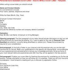 Personal Assistant Job Description Resume by Care Assistant Cv 8 Care Assistant Cover Letter 8 Inside Cover
