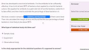 types of statistical studies video khan academy