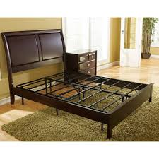 Steel Platform Bed Frame King Classic Steel Box Replacement Metal Platform Bed
