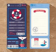cruise wedding invitations cruise ship boarding pass ticket wedding invitation design
