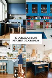 blue kitchen decorating ideas 30 gorgeous blue kitchen decor ideas digsdigs