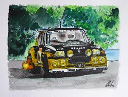 renault r5 turbo renault r5 copa turbo carlos sampol draw to drive