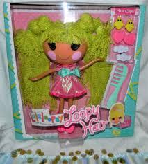 lalaloopsy loopy hair lalaloopsy loopy hair pix e flutters doll ebay