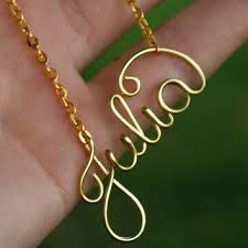 wire name necklace shop personalized wire necklace on wanelo