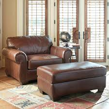 Chair And Ottoman Sale Chairs Chairs And A Half Harness Leather Chair Image With