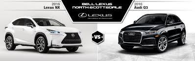 bell audi hours 2016 lexus nx 200t vs 2016 audi q3 scottsdale az bell lexus