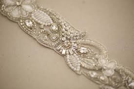 bridal sash bridal belt aster