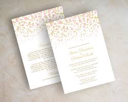 blush and gold wedding invitations blush pink and gold polka dot wedding invitations modern polka