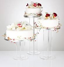 wedding cake stand emily design clear acrylic cake stand from 13 79