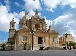 nadur in gozo island basilica st peter and st paul malte