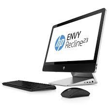 ordinateur de bureau sans tour hp envy recline 23 k050ef e8t72ea pc de bureau hp sur ldlc com