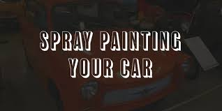 How To Spray Paint Your Car - how to spray paint a car at home diy techniques 1carlifestyle