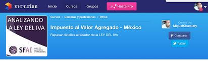 iva en mexico 2016 repasando las sesiones de iva con memrise actualizado al 15 de