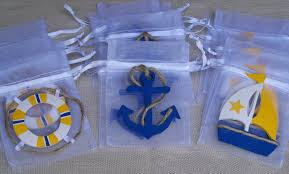 nautical baby shower favors nautical theme baby shower favor bags 10 pieces nautical theme