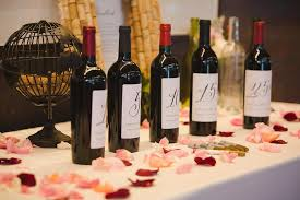 wine bottle guestbook and jonathan a merlot and wine wedding at the