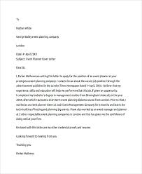 wedding planner cover letter 28 images cover letter