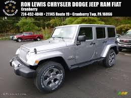 fiat jeep wrangler 2017 billet silver metallic jeep wrangler unlimited sahara 4x4