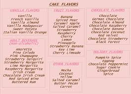 new list of birthday cake flavors best 25 cake flavors ideas on