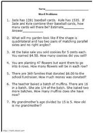 39 best math word problems images on pinterest math word