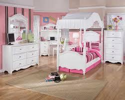 bedroom set for girls princess kids bedroom sets bed frame and computer desk in pink theme
