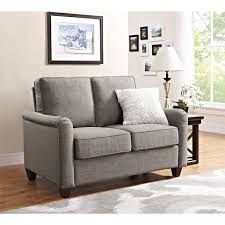 grey loveseat cover sure fit denim loveseat slipcover walmart