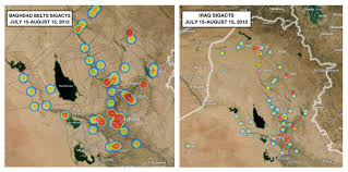 Map Fault Lines United States by Iraq Update 34 Data Suggests Rise In Violence Along Historic