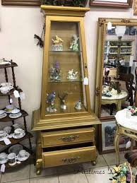 Corner Lighted Curio Cabinet Curio Cabinet Antique Queen Annerio Cabinets Made In Ukantique
