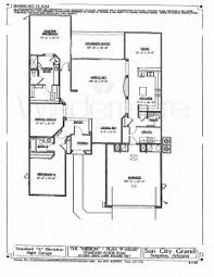 grand floor plans sun city grand surprise arizona floor plans