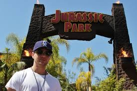 Map Universal Studios Hollywood Behind The Thrills Ryan Phillippe Walks With Dinosaurs At