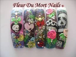 efectos tatuaje nail art archive style nails magazine