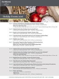 holidays event