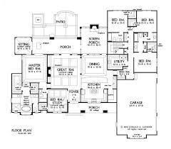 house plans with 5 bedrooms best 25 5 bedroom house plans ideas on 4 bedroom