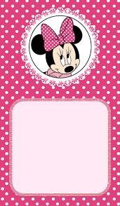 minnie mouse birthday invitation choice image invitation design