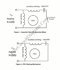 single phase induction motor control theory circuit diagram world