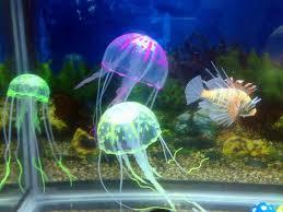 2018 fish aquatic decorations simulation of jellyfish acuarios