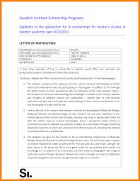 9 writing motivation letter for bursary sick leave letter