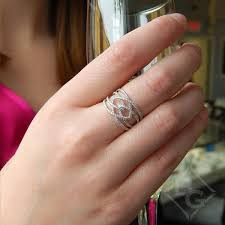 Wedding Ring On Right Hand by Gabriel Intertwining