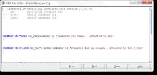 Alter Table Modify Column Oracle Managing Table And Column Comments In Oracle Sql Developer