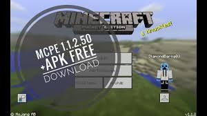 mcpe free apk mcpe 1 1 2 50 apk free