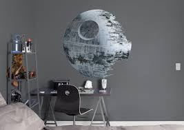 Star Wars Office Decor Death Star Wall Decal Shop Fathead For Star Wars Movies Decor