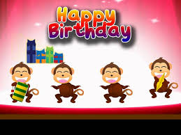 monkey birthday card u2013 gangcraft net