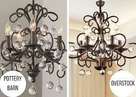 Cheap Chandeliers Under 50 11 Places To Find Pottery Barn And Anthropologie Lighting